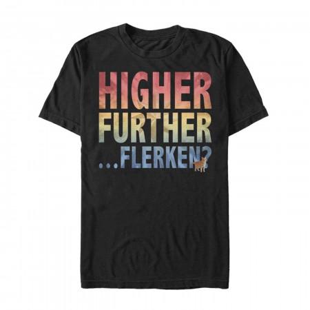 Higher Further Flerken Men's T-Shirt