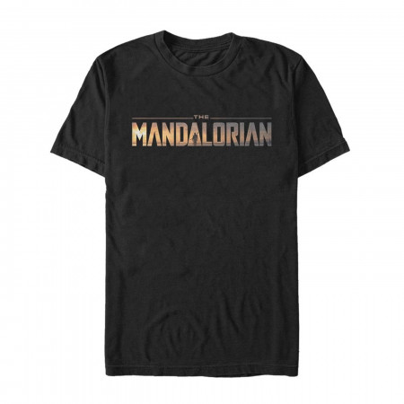 Star Wars The Mandalorian Logo Men's T-Shirt