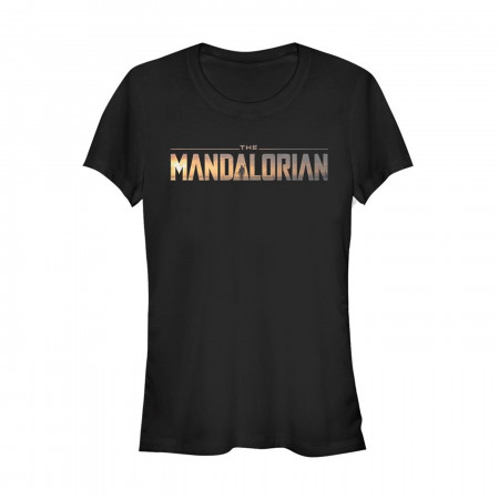 Star Wars The Mandalorian Logo Women's T-Shirt