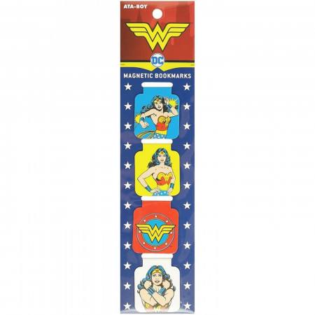 Wonder Woman Magnetic Bookmark Set
