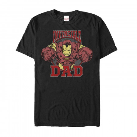 Father's Day Iron Man Invincible Dad T-Shirt