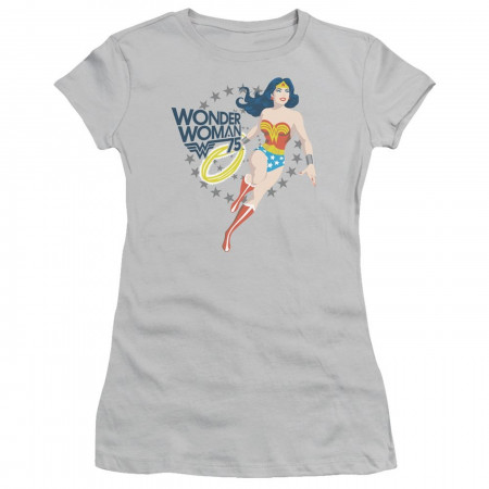 Wonder Woman 75 Jump Into Action Women's T-Shirt