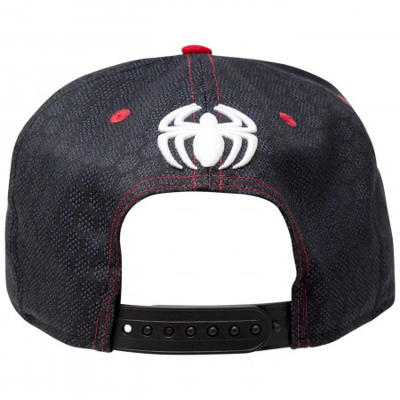 Spider-Man Stealth Suit Fly Weave Armor New Era 9Fifty Adjustable Hat