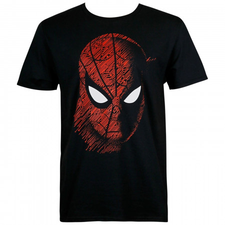 Spider-Man: Far From Home Tech Pattern Men's T-Shirt