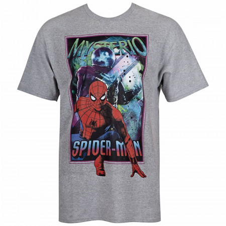 Spider-Man Far From Home Mysterio and Spider-Man Men's T-Shirt