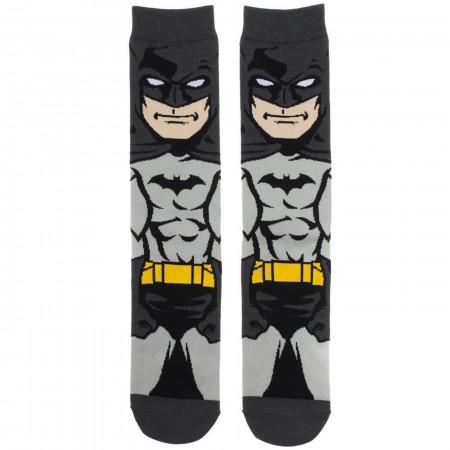 Batman Dark Knight 360 Character Crew Socks