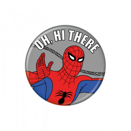 Spider-Man 60's Hi There Button