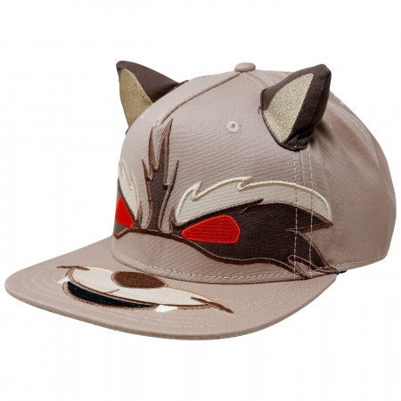 Guardians of the Galaxy Rocket Raccoon Big Face Hat