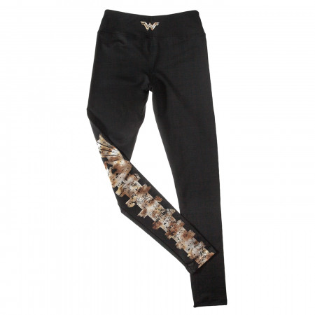 Wonder Woman Gladiator Shield Leggings