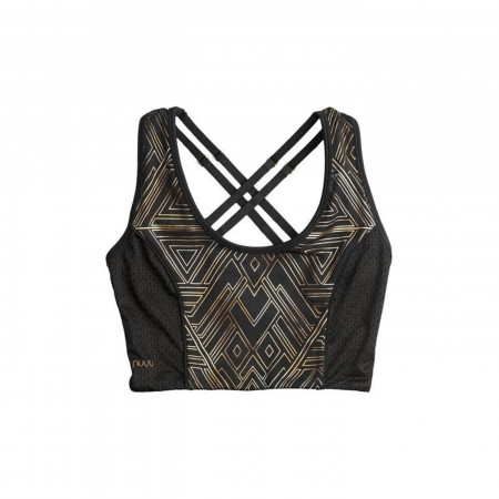 Wonder Woman Foil Print Cropped Tank Tank