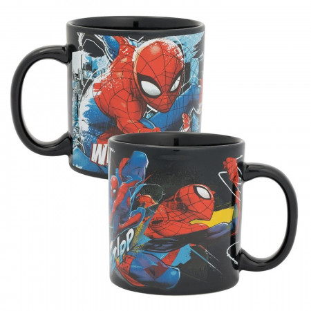 Marvel Spider-Man Web Slinging Time 20 oz. Ceramic Mug