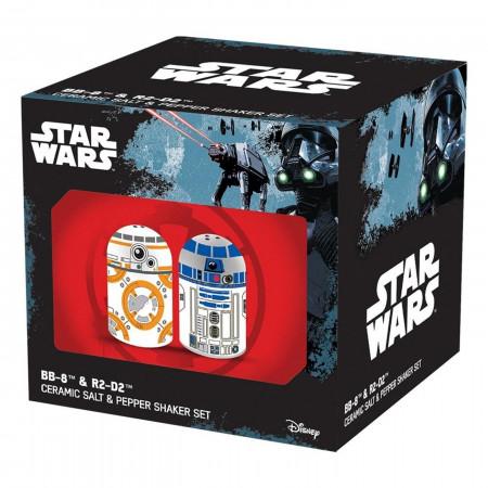 Star Wars BB-8 & R2D2 Sculpted Salt & Pepper Set