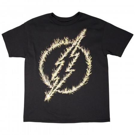 DC Comics Flash Glow Logo T-Shirt