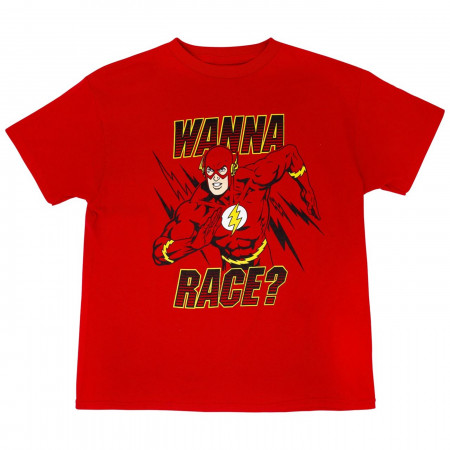 DC Comics Flash Wanna Race? T-Shirt