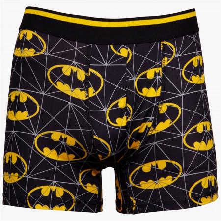Batman Logo Print Boxers Briefs