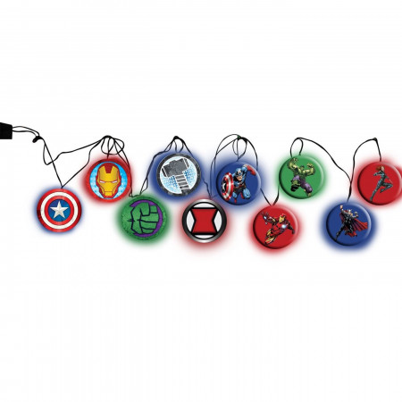 Marvel Avengers Symbols Christmas Lights