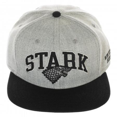 Game of Thrones Stark Collegiate Snapback