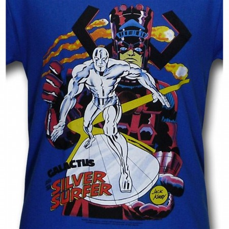 Silver Surfer Herald of Galactus Jack Kirby T-Shirt