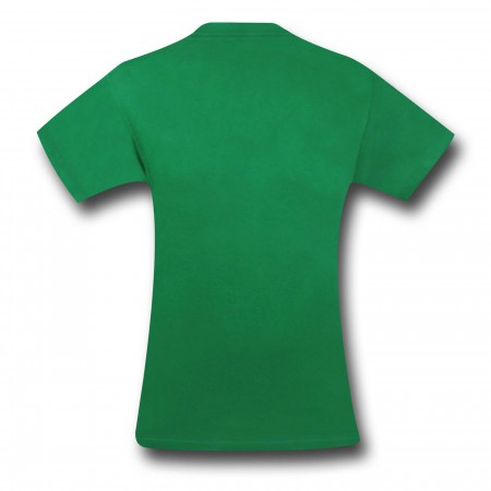Green Lantern All Over Gothic Print T-Shirt