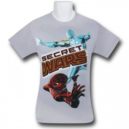 Marvel Secret Wars Silver T-Shirt