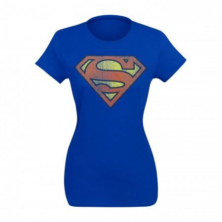 Superman Junior's Distressed Symbol T-Shirt