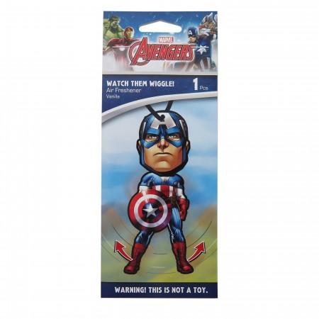 Captain America Wiggle Vanilla Air Freshener