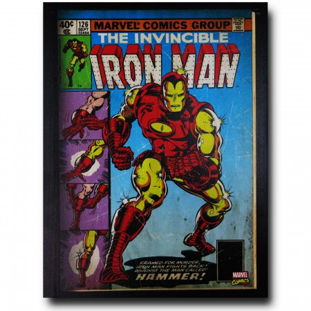 Iron Man Hammer Artwork Canvas