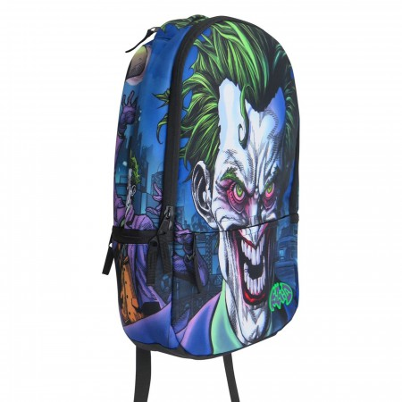 The Joker Molded Laptop Backpack