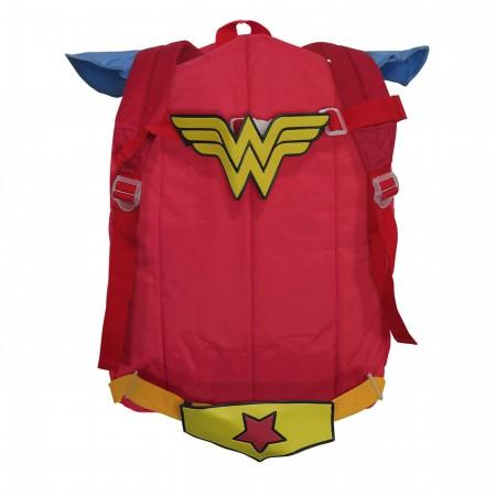 Wonder Woman Belt Strap Red Backpack