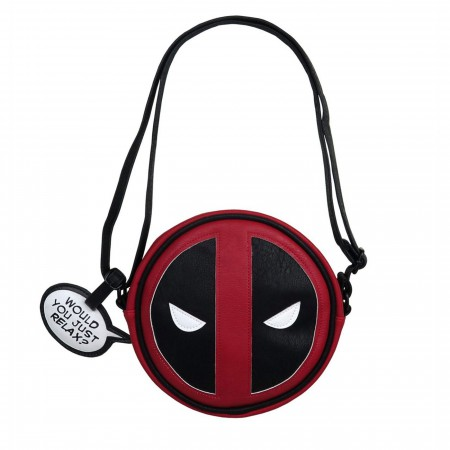 Deadpool Faux Leather Loungefly Cross Body Handbag