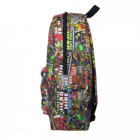 Luke Cage Comic Cover Mosaic Backpack