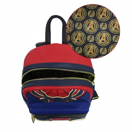 Infinity War Loungefly Iron Spider Mini Backpack