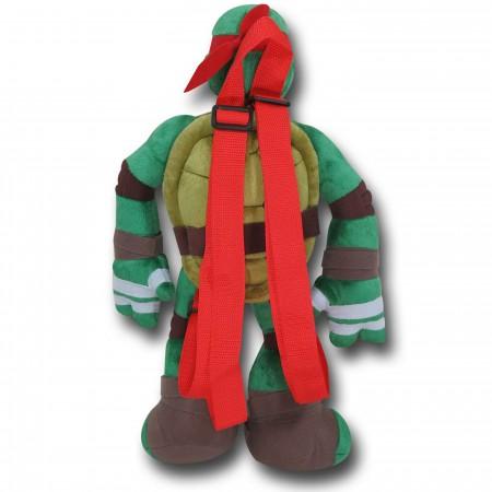 TMNT Raphael Plush Backpack