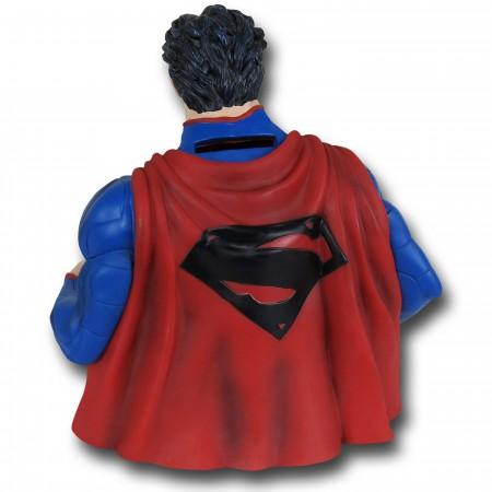Superman New 52 Bust Bank