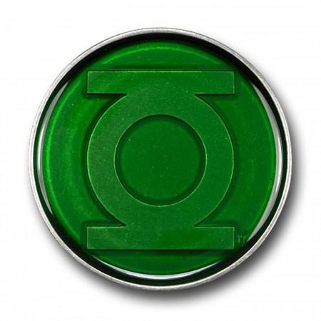 Green Lantern Translucent Green Belt Buckle