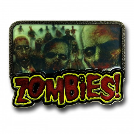 Zombies Belt Buckle