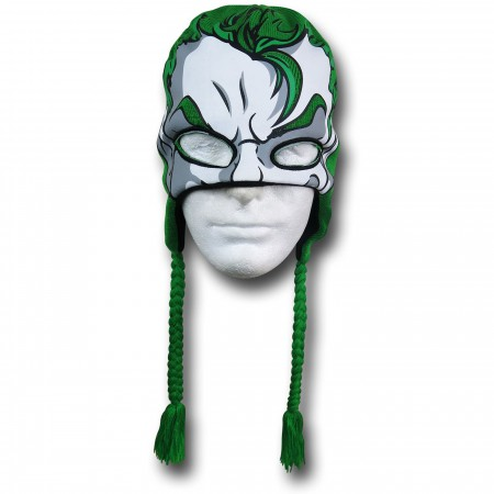 Joker Face Peruvian Beanie