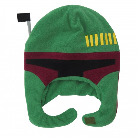 Star Wars Boba Fett Kids Costume Peruvian Youth Beanie