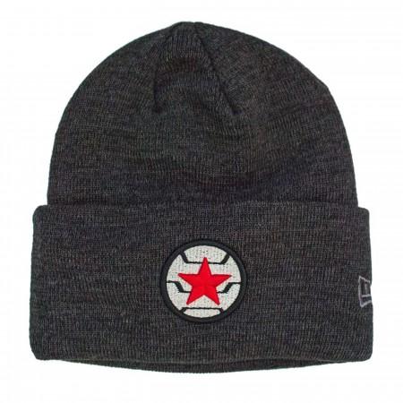 Winter Soldier Logo Unisex Knit Beanie