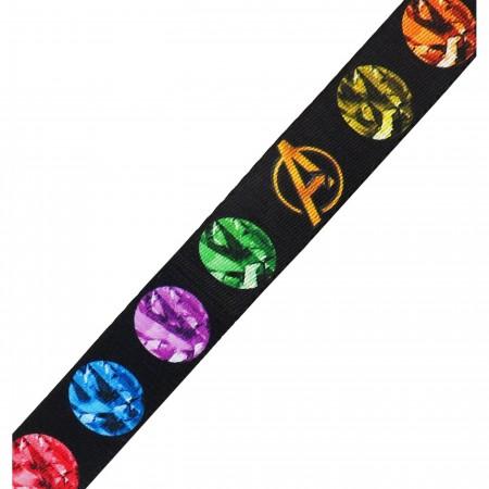 Infinity War Infinity Stones Kids 1.0 Web Belt