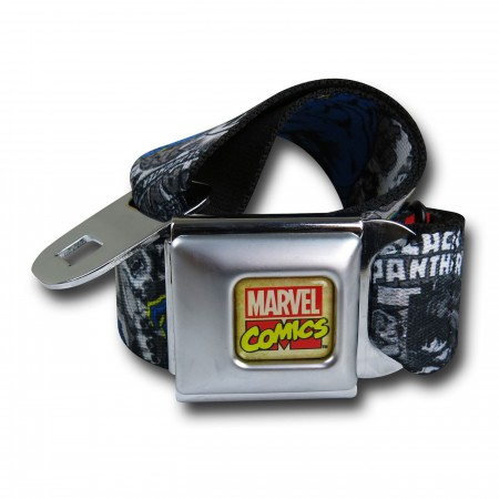 Black Panther Seatbelt Belt