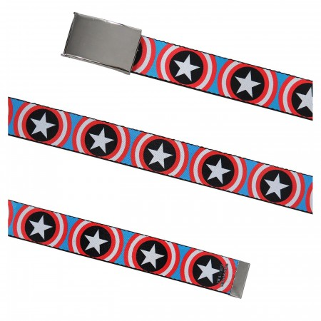 Captain America Vibranium Shields Web Belt