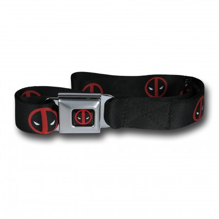 Deadpool Symbols Seatbelt Belt