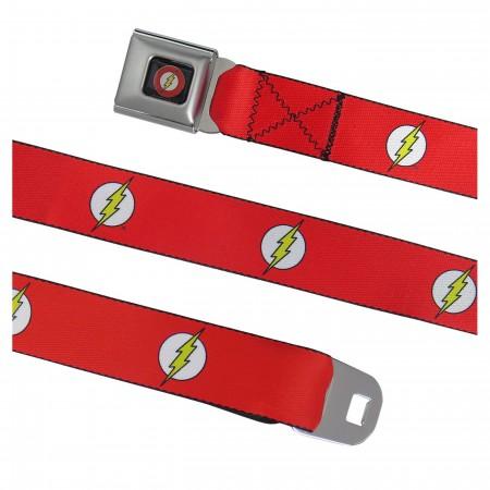 The Flash Symbol Seatbelt Belt