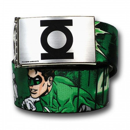 Green Lantern Hal Jordan Symbols Youth 1.0 Web Belt
