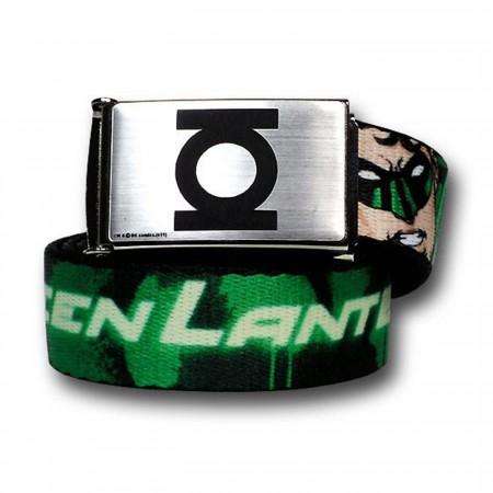 Green Lantern Hal Jordan Symbols Youth 1.0 Web Belt