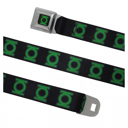Green Lantern Symbol Seatbelt Belt