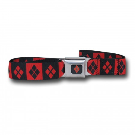 Harley Quinn Diamonds Seatbelt Belt