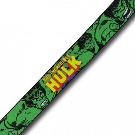 Hulk Raging Adult Web Belt