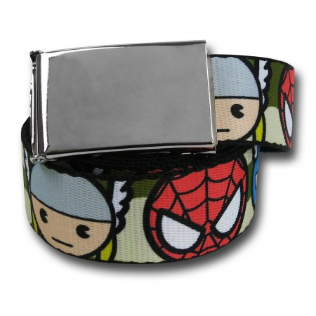 Marvel Kawaii Web Belt